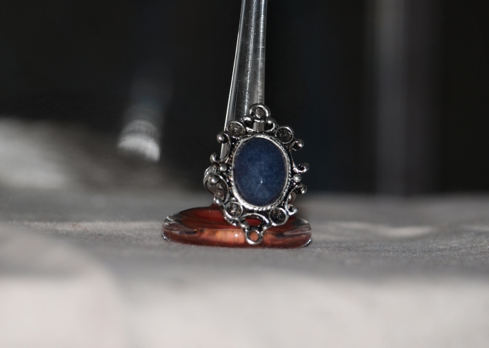 Victorian Blue Ring